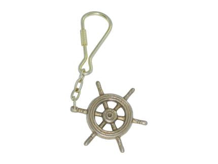 Rare Boat Wheel Key Ring