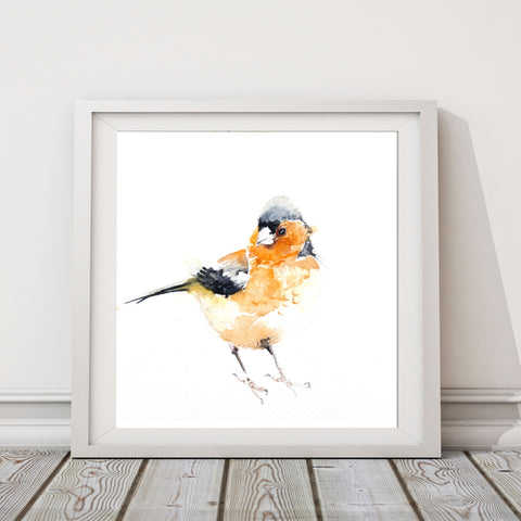JEN BUCKLEY PRINT  of original Chaffinch watercolour