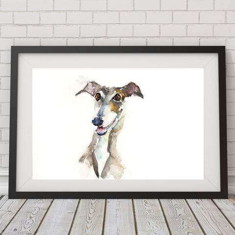 JEN BUCKLEY signed LIMITED EDITON PRINT 'Greyhound'