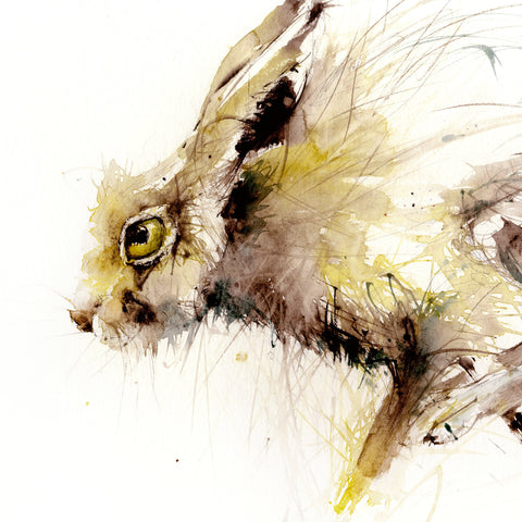 "Limited edition hare print ""Will"""