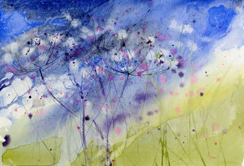 "Limited edition print ""Cow parsley"""