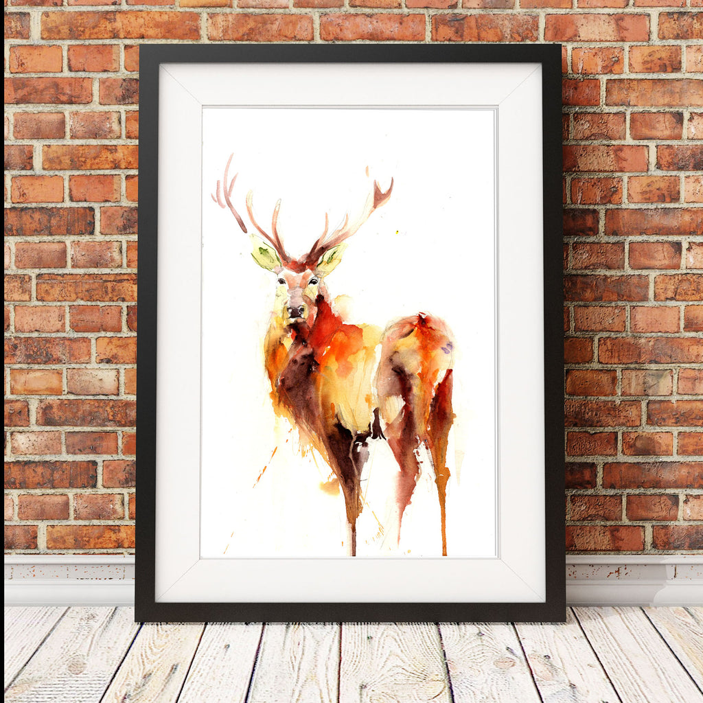 signed LIMITED EDITON PRINT of my original STAG