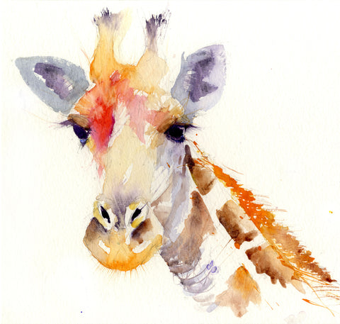 JEN BUCKLEY signed LIMITED EDITION PRINT  'Giraffe' - Jen Buckley Art  - 1