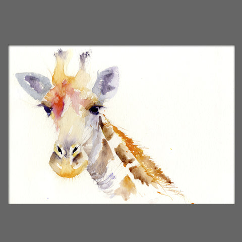 JEN BUCKLEY signed LIMITED EDITION PRINT  'Giraffe' - Jen Buckley Art  - 2