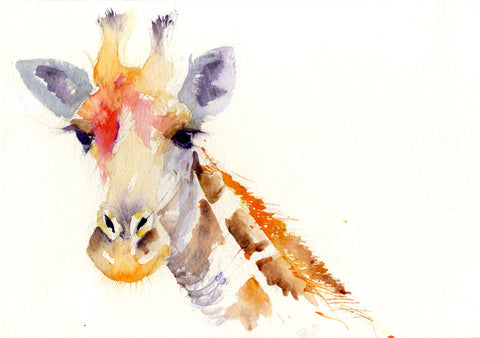 JEN BUCKLEY signed LIMITED EDITION PRINT  'Giraffe' - Jen Buckley Art  - 4