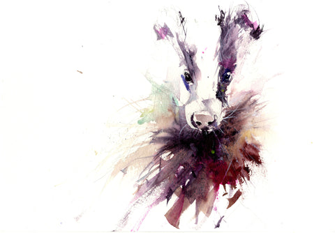 Jen Buckley badger print