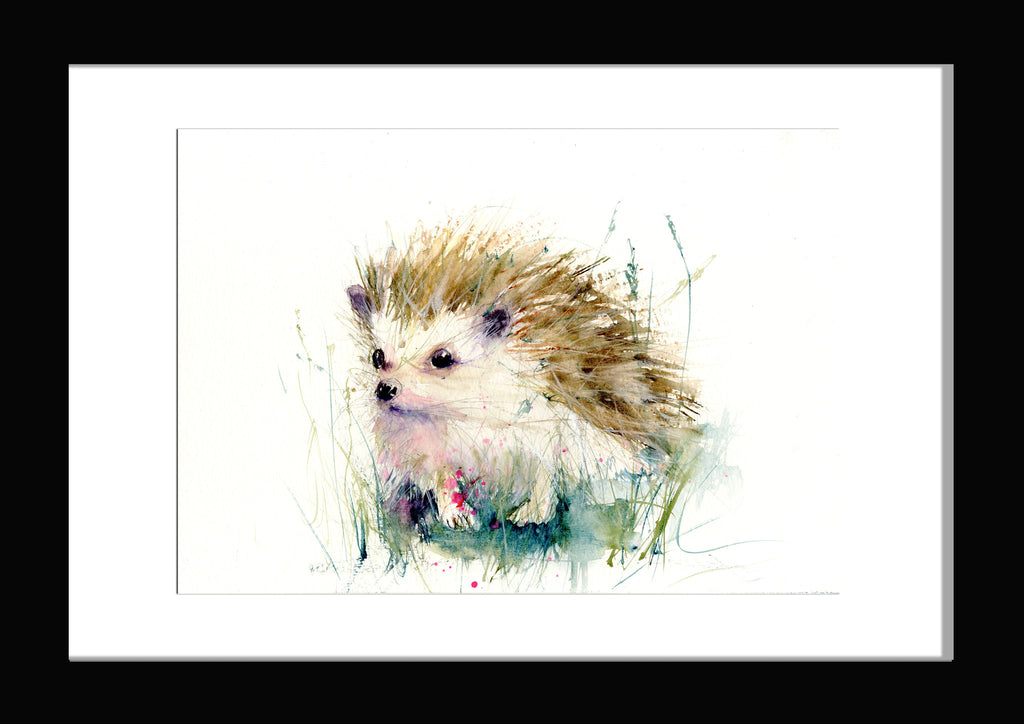 hedgehog. Jen Buckley limited edition