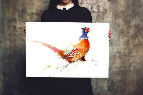 LIMITED EDITON PRINT of my original Pheasant watercolour