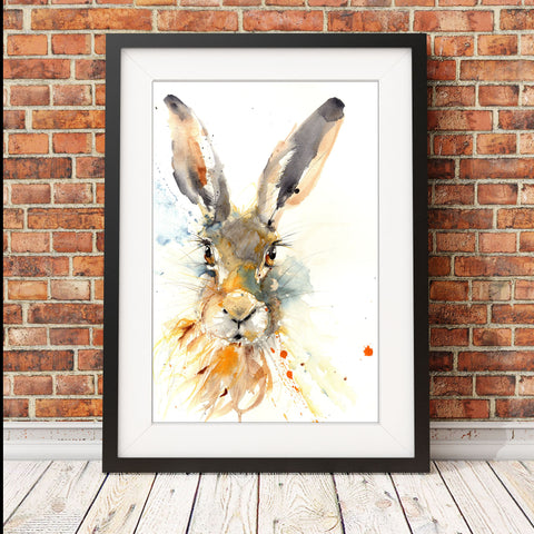limited edition hare print