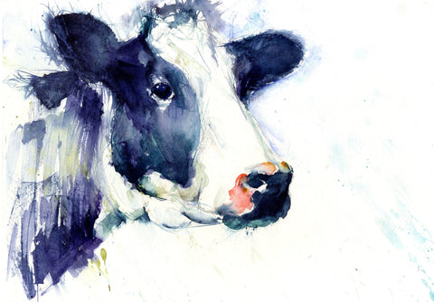 Limited edition cow print by Jen Buckley