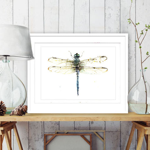 JEN BUCKLEY signed LIMITED EDITON PRINT of my original DRAGONFLY