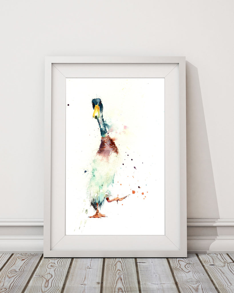 limited edition print  Indian runner DUCK