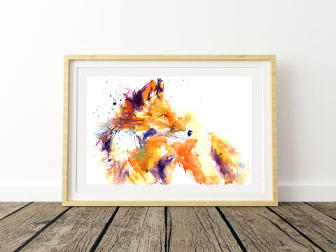 LIMITED EDITON PRINT 'Red Fox'