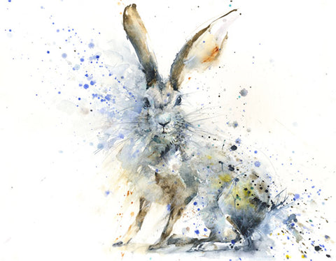 "Limited edition hare print ""Charlie"""