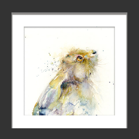 limited edition hare print - Jen Buckley Art limited edition animal art prints