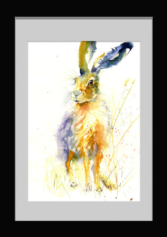 imited edition hare print