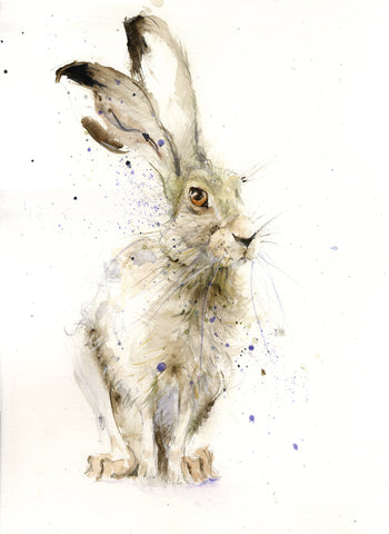 "Limited edition hare print ""Harry"""