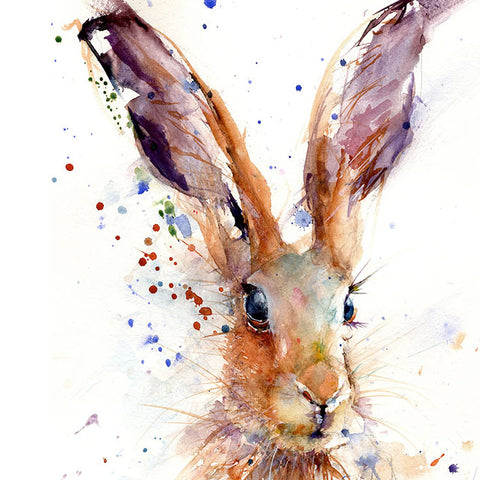 "Limited edition hare print ""lottie"""