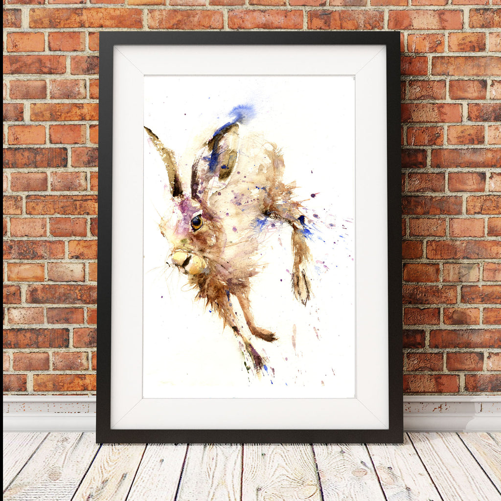 "Limited edition hare print ""Oliver"""