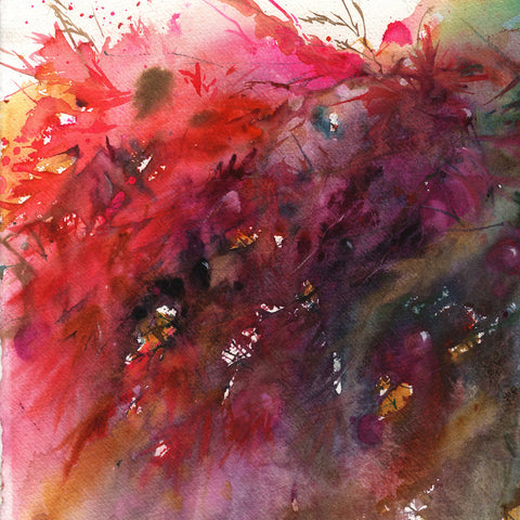 "Original watercolour painting ""Japanese maple"""