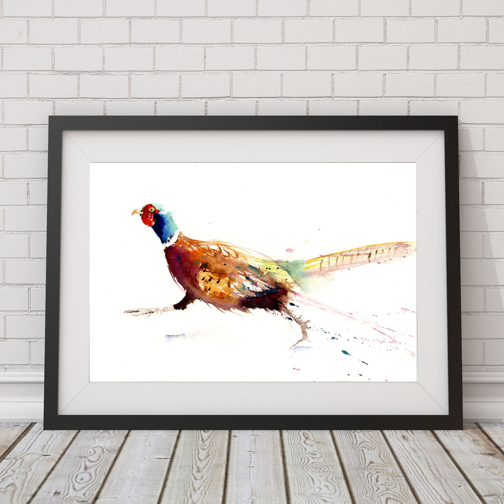 LIMITED EDITION PRINT from original Pheasant watercolour