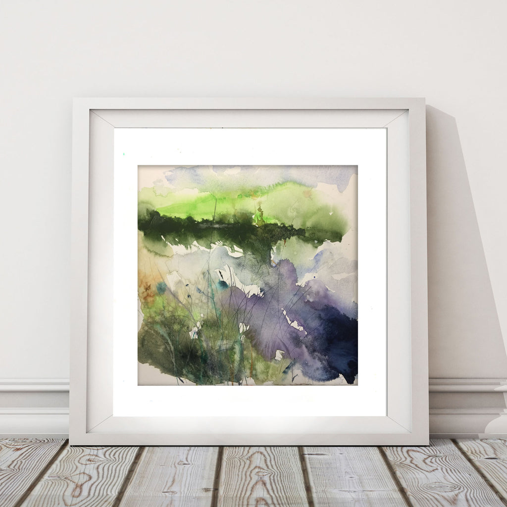 "Original watercolour painting ""Reflections"""