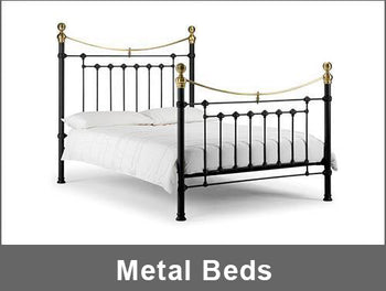 metal beds collection