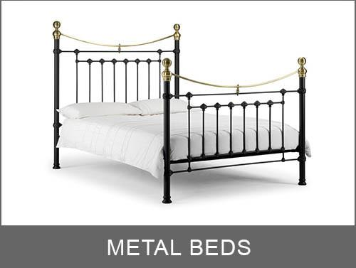 Metal Beds | Available In All Sizes And Styles | Mattress Mick ...