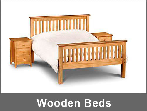 Wooden beds collection