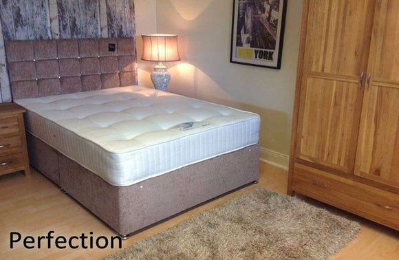 4ft Perfection Divan Orthopaedic Mattress and Divan Base