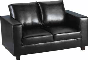 Tempos Sofa in A Box Black