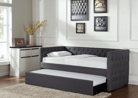 Grey Guest Bed
