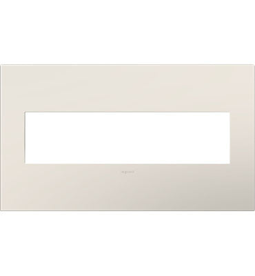 Satin Light Almond, 4-Gang Wall Plate