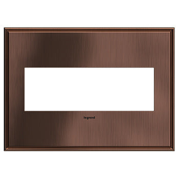 Matte Antique Copper, 4-Gang  Wall Plate