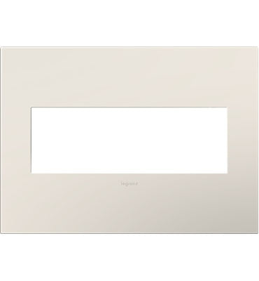Satin Light Almond, 3-Gang Wall Plate