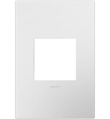 Gloss White, 1-Gang Wall Plate