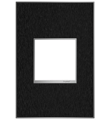 Black Stainless, 2-Gang Wall Plate