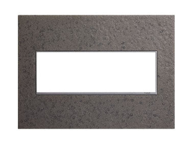 Hubbardton Forge Natural Iron, 3-Gang Wall Plate