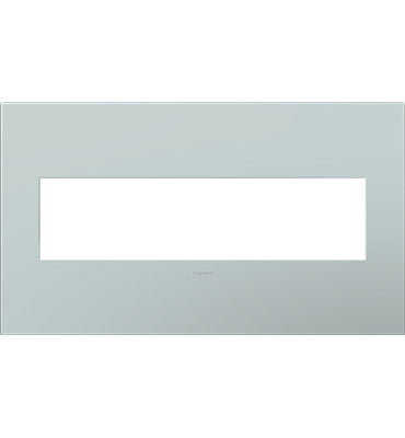 Pale Blue, 4-Gang Wall Plate