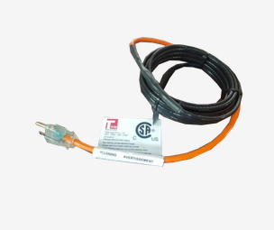 Self Regulating Plug In Heating Cable 120V