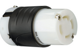 30 Amp NEMA L1430 Connector - Black Back, White Front Body