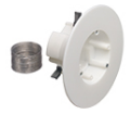 Non-Metallic Cam-Light™ Box for Suspended Ceilings with grounding clip