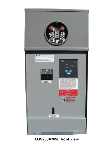 Eaton Metered Service Entrance Rated Automatic Transfer Switch