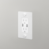 1G Outlet with USB Charger