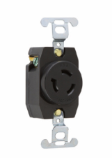 15 Amp NEMA L615 Single Receptacle