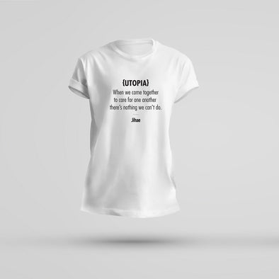 Utopia Lyric T-Shirt