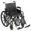 Chrome Sport Wheelchair Dual axle