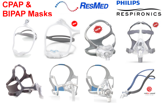 cpap and bipap masks