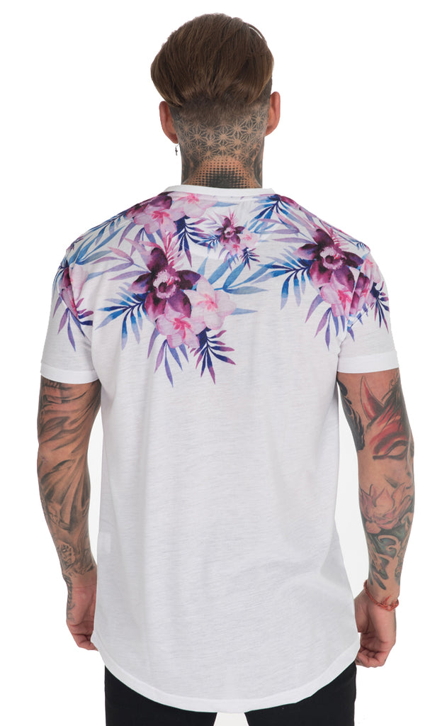 MOONLIGHT FLORAL T-SHIRT (WHITE)