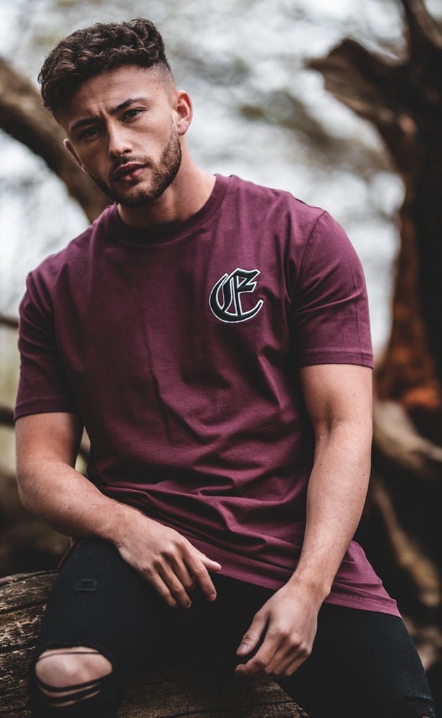 CORE T-SHIRT - BURGUNDY
